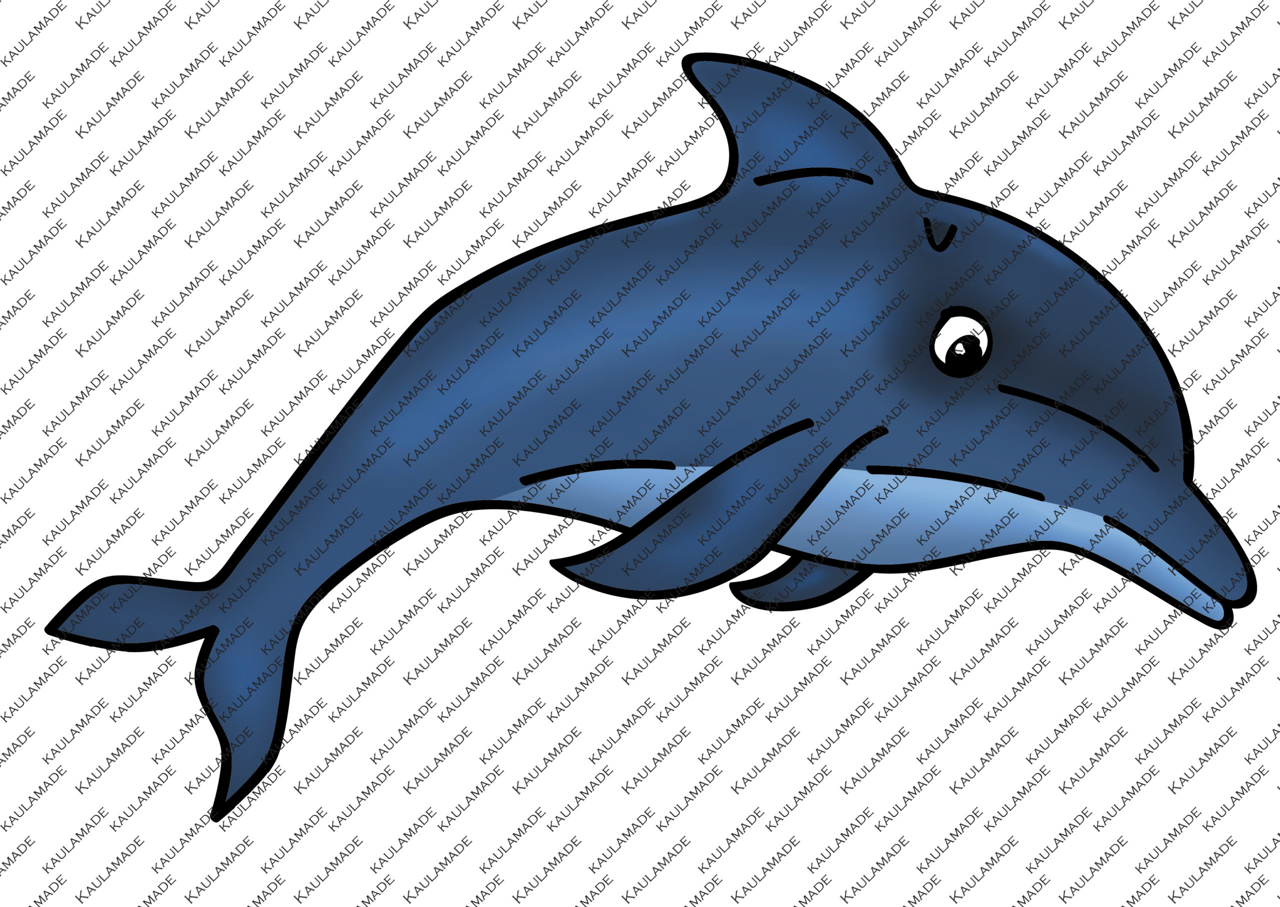 Digistamp Delfin