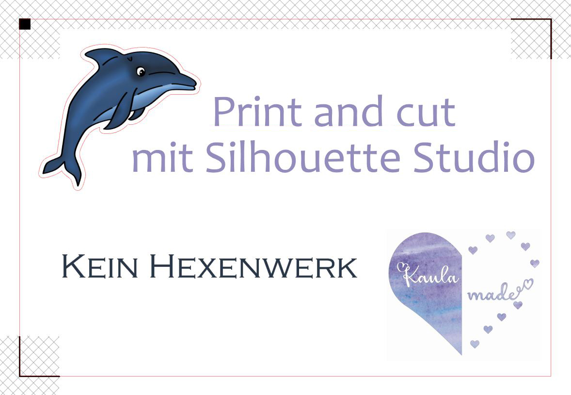 Print and cut mit Silhouette Studio